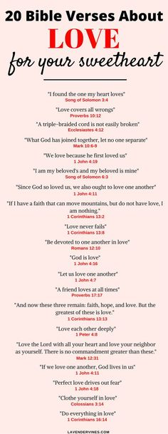 There are so many bible verses about love in the Bible. I hope this list of love bible verses helps you with inspiration for bible verses about relationships and marriage Marriage Bible Verses, Bible Verses Quotes, New Quotes, Bible Scriptures, Bible Verses About Relationships, Bible Verses For Weddings, Bible Quotes Relationship, Faith Quotes, Wedding Bible Readings