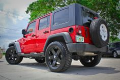 Jeep Wrangler  Should I take a dare with the red