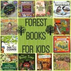 Forest books for kids from Teach Beside Me