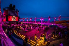 Pirate Deck Party on the Disney Dream
