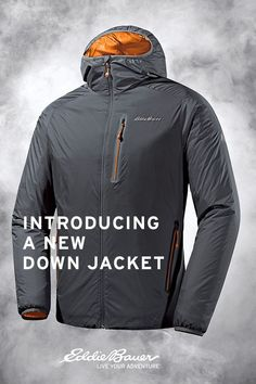 The new EverTherm Down Jacket. No quilting. No cold spots. This is down. Shop the mens jacket now. | #LiveYourAdventure