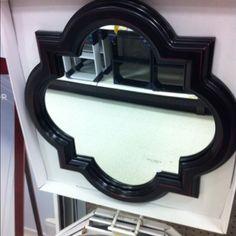 Quatrefoil mirror from target