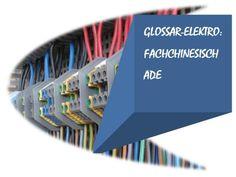 elektronisches Buch: Glossar Elektro: Fachchinesisch ade