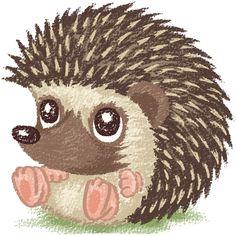 Hedgehog on Behance