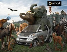 Smart - Print Advertising http://www.photoshophobby.com/smart/ #AdPrint #Advertsing #Photoshop