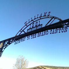 Williams, AZ in Arizona Hier zit een KOA?