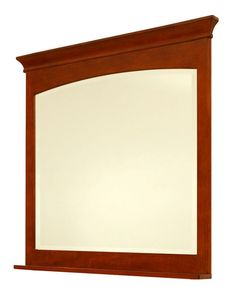 "Sunny Wood EP3640MR Expressions 36"" Framed Bevel Mirror Cinnamon / Nutmeg Home Decor Mirrors Plumbing"
