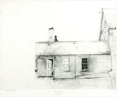 Andrew Wyeth  1917-2009  Metropolitan Museum of Art  Andrew Wyeth Drawing Portfolio, 1976
