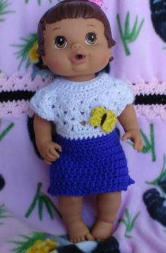 Blue Baby Alive Dress