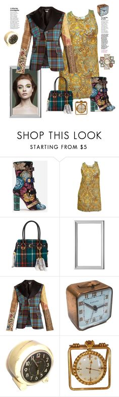 """Time changers"" by juliabachmann ❤ liked on Polyvore featuring Dolce&Gabbana, Barbara Bui, Miu Miu, Junya Watanabe, Endura and Benzara"