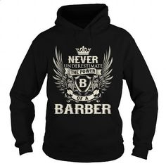 BARBER B - #vintage t shirts #pullover hoodie. GET YOURS => https://www.sunfrog.com/LifeStyle/BARBER-B-Black-Hoodie.html?60505