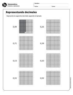 Representando decimales