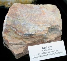 Good article with pics on how to identify gold ore. Most miners look for bright yellow gold, but that isn't always true with some gold Minerals And Gemstones, Rocks And Minerals, Crystals And Gemstones, Stones And Crystals, Rock Identification, Gem Hunt, Rock Tumbling, Gold Prospecting, Types Of Gold