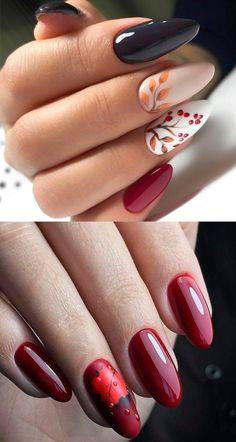 Wow Nails, Nails Only, Pink Nails, Nail Art Designs Videos, Fall Nail Art Designs, Manicure Nail Designs, Nail Manicure, Stylish Nails, Trendy Nails