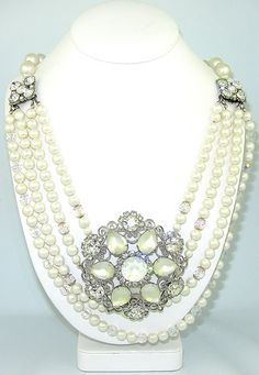 SOLD!  $265.00 Party Pearls Necklace