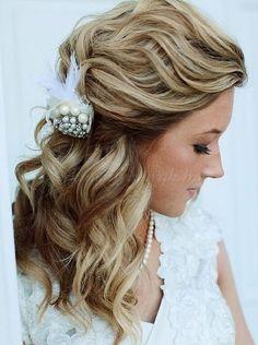félig+leengedett+esküvői+frizurák+-+félig+leengedett+menyasszonyi+frizura
