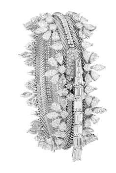 Diamond Zip #Bracelet - converts to #necklace - Van Cleef & Arpels