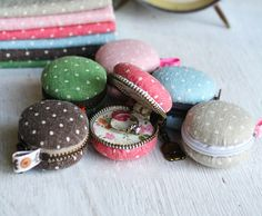 If you've got a sweet tooth like me, then you will like this cutest little thing - a macaron purse.