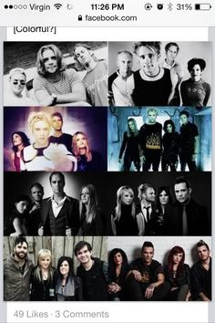 The evolution of Skillet. For those of you who don't know their whole story, lemme tell you, they've come a LONG, LONG WAY. #RockOnSkillet XD