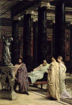 Sir Lawrence Alma-Tadema - A Lover of Art