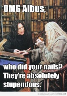 Hahahahaha!!! This is exactly how I was looking at this guy today with unnecessarily long nails!