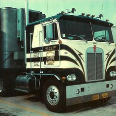 Kenworth Cabover Oldschool On Instagram