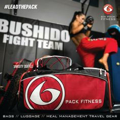 The Varsity Duffle from 6 Pack Fitness. The only thing it won't carry is your excuses.   Check it out here: http://www.sixpackbags.com/products/by-style/duffle-bags/varsity-duffle.html   #leadthepack #travelfit