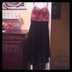 SUMMER SALE!  Love Culture High-Low Dress! This fun, edgy strapless dress by Love Culture is the perfect way to start your summer off SEXY! There is some slight padding in the top of the dress, as shown in the last picture. Worn once! Love Culture Dresses High Low