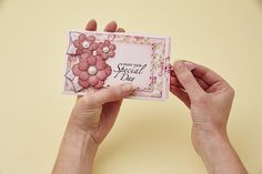This hidden sentiment slider card is known as a double slider card and is perfect for adding an extra element of surprise to your card.
