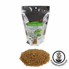 Organic Alfalfa Sprouts Seeds | Alfalfa Sprouting Seed by Handy Pantry Allergy Free Recipes, Dog Food Recipes, Growing Wheat Grass, Oat Groats, Grain Free Dog Food, Alfalfa Sprouts, Sprouting Seeds, Grain Foods, Healthy Dishes