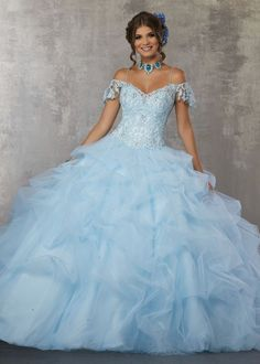 f75ee4a1be5 51 Best Light Blue Quinceañera images in 2019