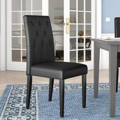 Black Kitchen & Dining Chairs You'll Love in 2020 | Wayfair