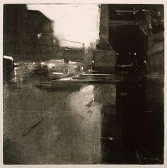 Rain,Copley Square by Ben Aronson