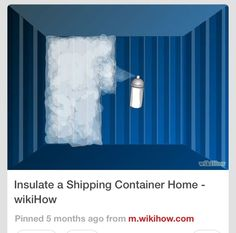 How to...container homes