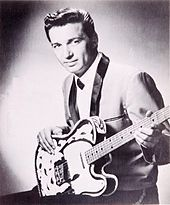 Waylon Jennings in his clean-shaven days.