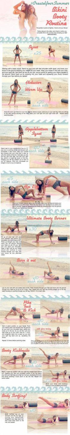 Tone It Up: Bikini Booty Workout by AFiskie