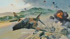 PHANTOM FURY - Aces High.by Robert Taylor   Media: Lithograph Size: 34.5 x 23.5 inches Release Date: 10/2009 The biggest, fastest, most powerful fighter of its day, the McDonnell Phantom was an awesome war machine that came to dominate aerial combat for over two decades. It may have been the size of many World War II bombers but it could out-perform anything that crossed its path; The F-4 Phantom was the benchmark against which every fighter in the world came to be judged; 16