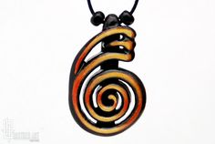 Reiki Jewelry  Tibetan Dai Ko Myo Symbol Necklace  by CristherArt