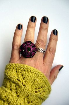 *+Häkelring++crochet+ring+*+von+crochet.jewels+auf+DaWanda.com