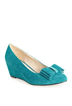 Plus Size Gogo Faux Suede Wedge | Plus Size View All Shoes | Avenue