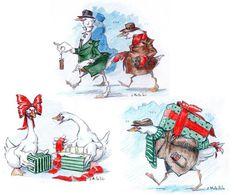 Christmas cards 2010 by ~cidaq on deviantART