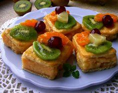 Domowa Cukierenka - Domowa Kuchnia: kostka tropikalna (bez pieczenia)