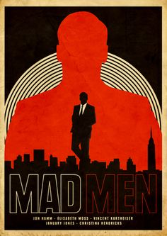 Mad Men, minimalist-film-posters