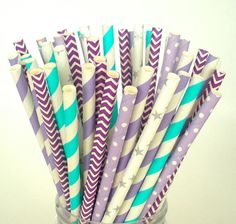 Paper Straws Disney FROZEN  50 ct