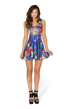 Tale As Old As Time Scoop Skater Dress › Black Milk Clothing