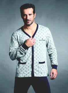 Hommes bross/é Pure 100/% Pyjama Coton Hiver Chaud Flanelle Thermique M//L//XL//XXL