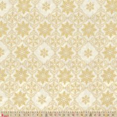 Christmas Gold Stars On Cream - cotton fabric Dressmaking Fabric, Fabric Shop, Gold Christmas, Haberdashery, Gold Stars, Cotton Fabric, Cream, Creme Caramel, Dry Goods