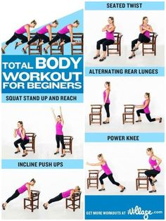Total body workouts at home