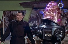 *Forbidden Planet (1956) Walter Pidgeon, Anne Francis, Leslie Nielsen Director: Fred M. Wilcox IMDB: When Adams and his crew are sent to investigate the silence from a planet inhabited by scientists, he finds all but two have died. Dr. Morbius and his daughter Altaira have somehow survived a hideous monster which roams the planet. Unknown to Adams, Morbius has made a discovery, and has no intention of sharing it (or his daughter!) with anyone.