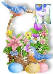 Here Comes Peter Cottontail, Cute Alphabet, Easter Baskets, Floral Wreath, Creations, Bunny, Scrapbook, Make It Yourself, Projects